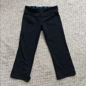 Lululemon leggings capri flare
